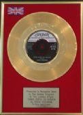 "EDDIE COCHRAN - 24 Carat Gold 7"" Disc -THREE STEPS TO HEAVEN"